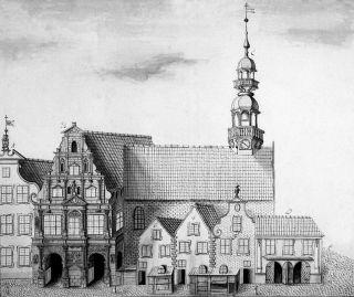 Stary Ratusz sprzed 1777