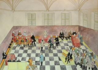 Obrady rajców Starego i Nowego Miasta w 1768 r.